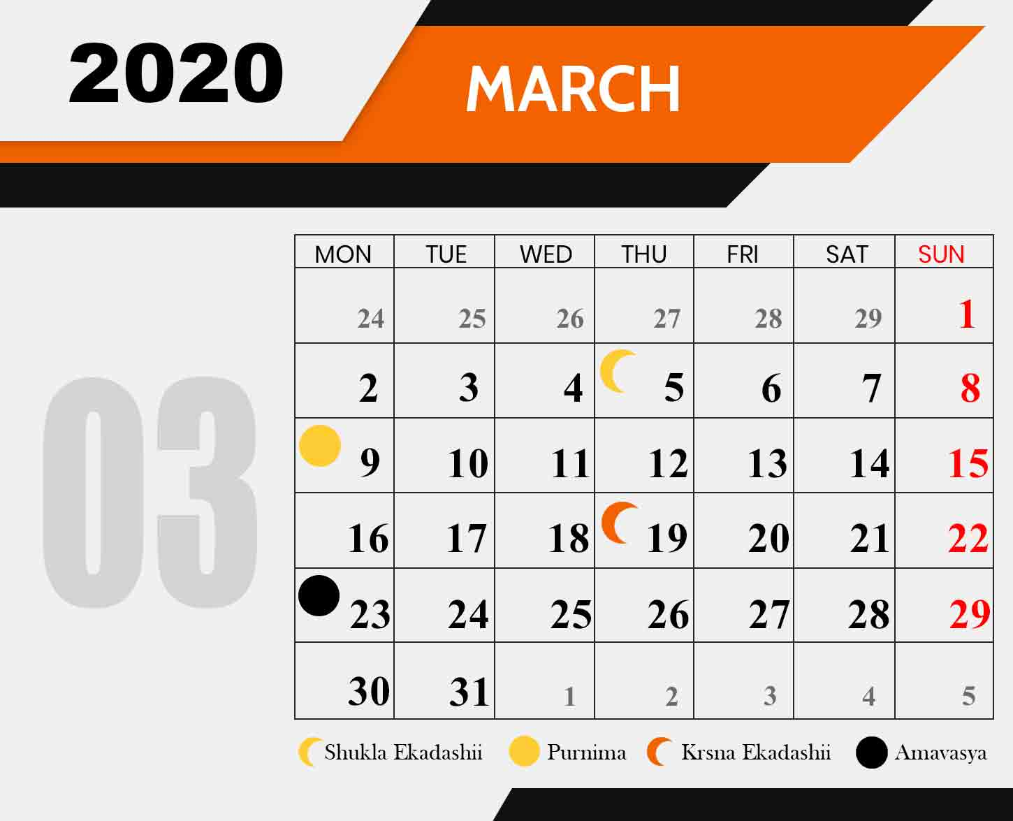 Ananda-Marga-Fasting-Chart-march-2020