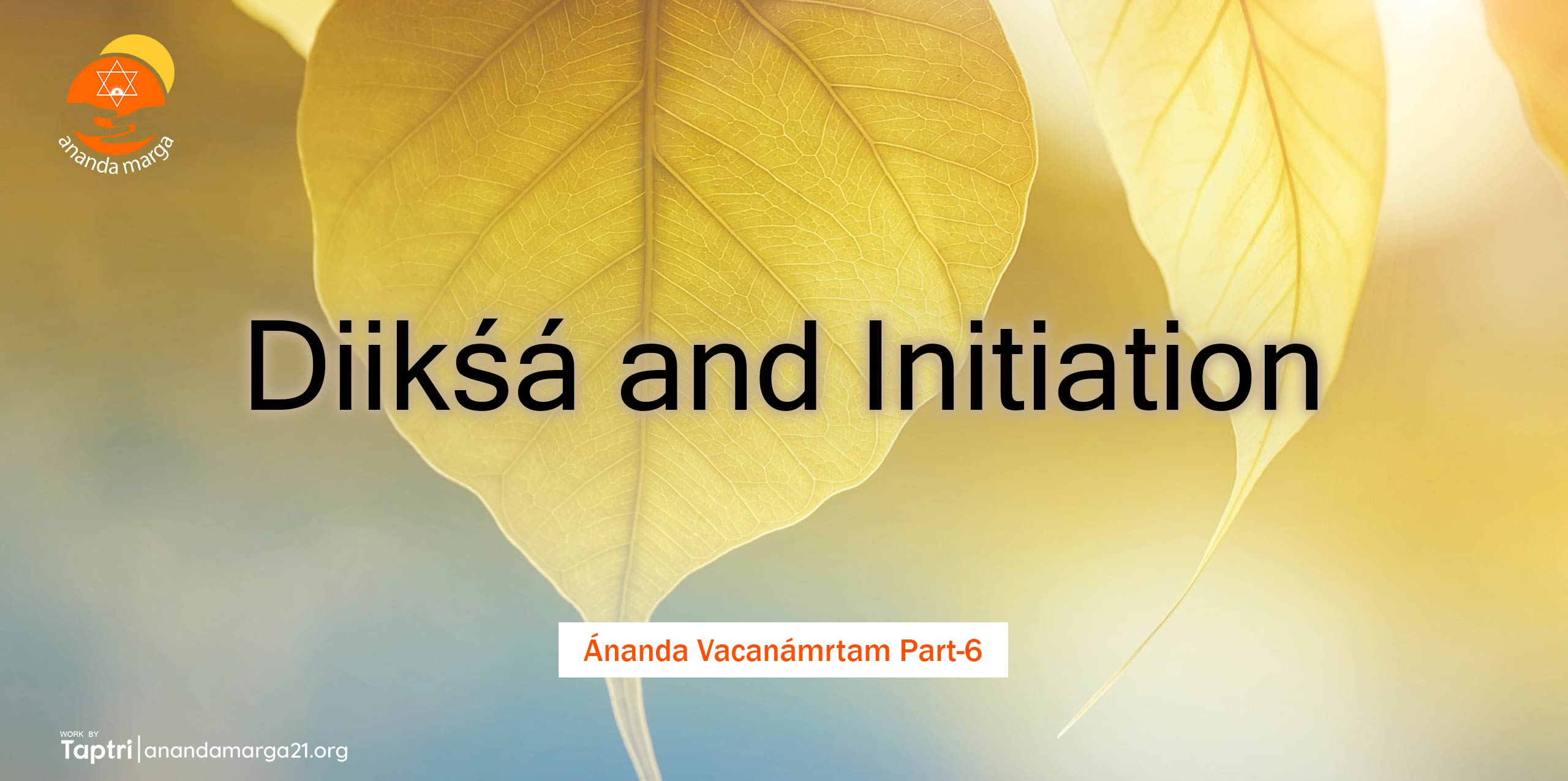 Diiksa-and-Initiation-Ananda-Vacanamrtm-06-anandamarga